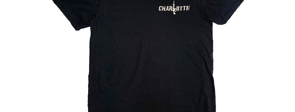 "Black Embroidered ""Charlotte Stick"""