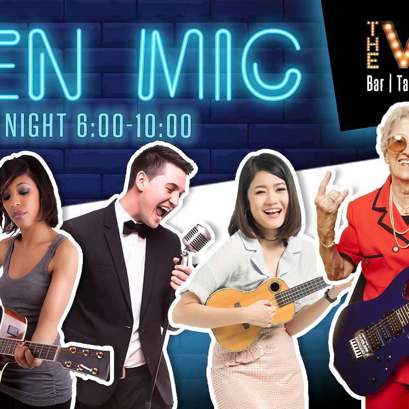 Friday Open Mic at The Vault