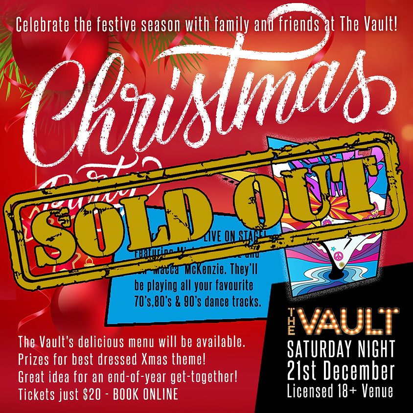 Christmas at The Vault