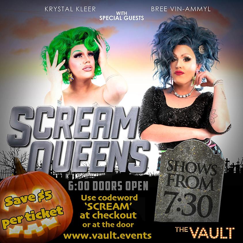 Scream Queens at The Vault