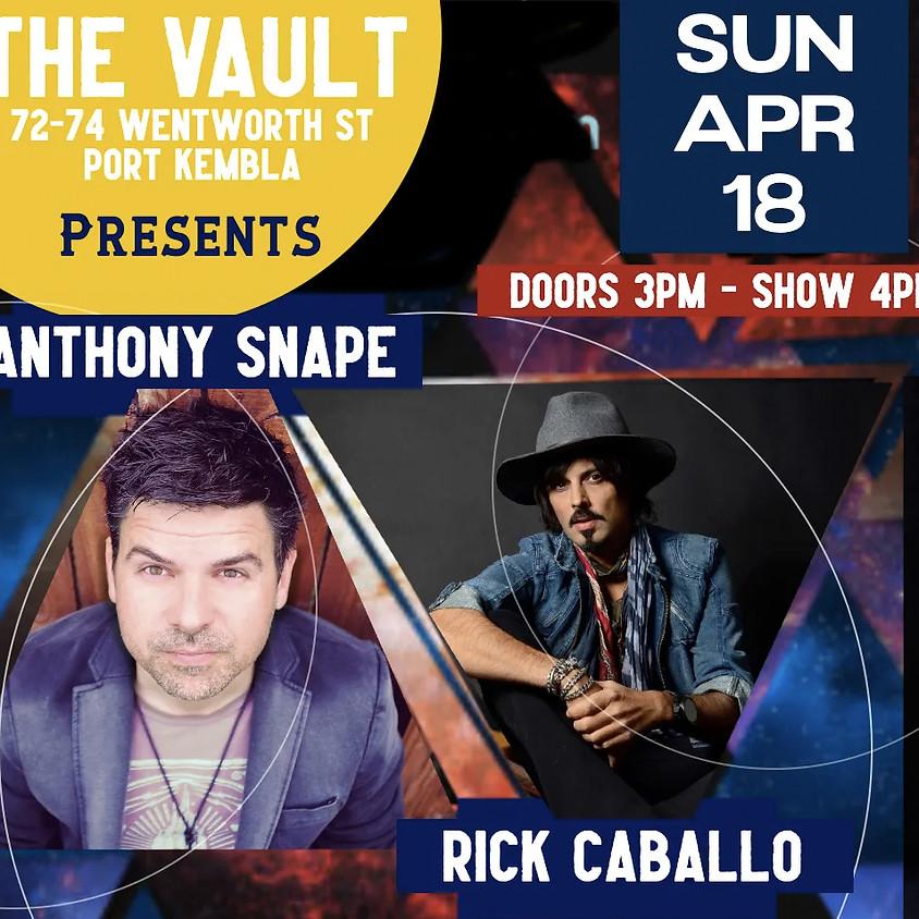 Anthony Snape & Rick Caballo at The Vault