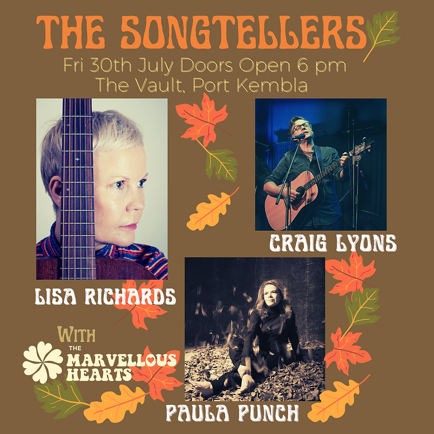 The Songtellers - Marvellous Hearts with Lisa Richards and Paula Punch