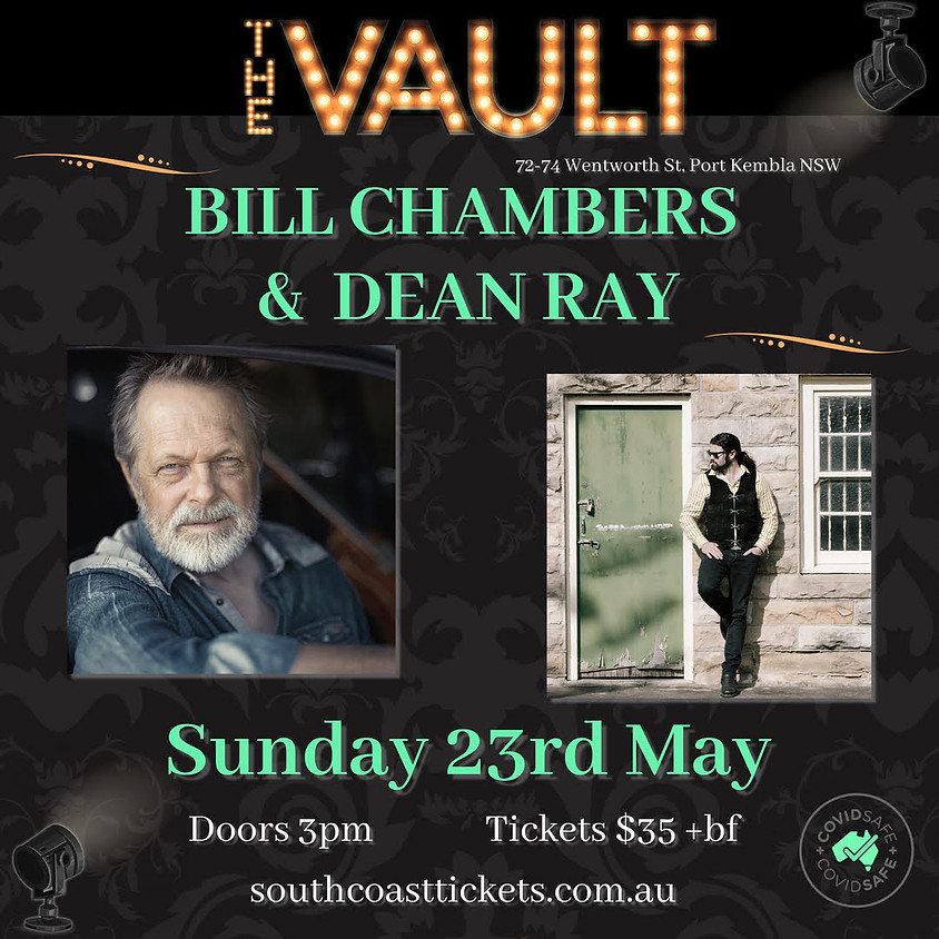 Bill Chambers and Dean Ray at The Vault