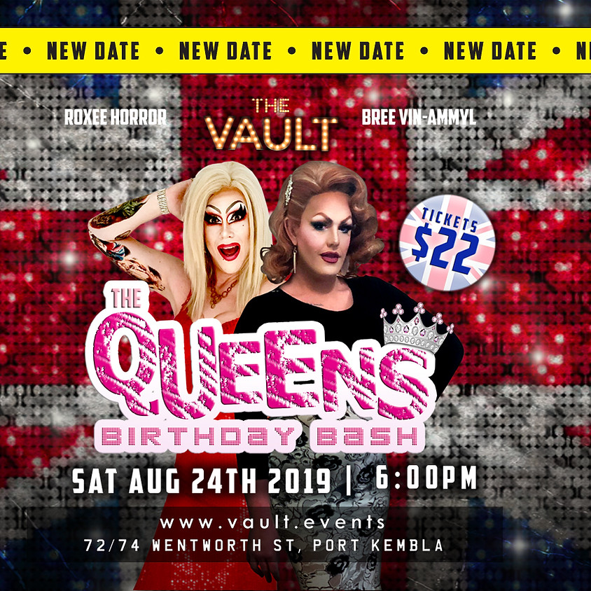 The Queens' Birthday Bash Live at The Vault