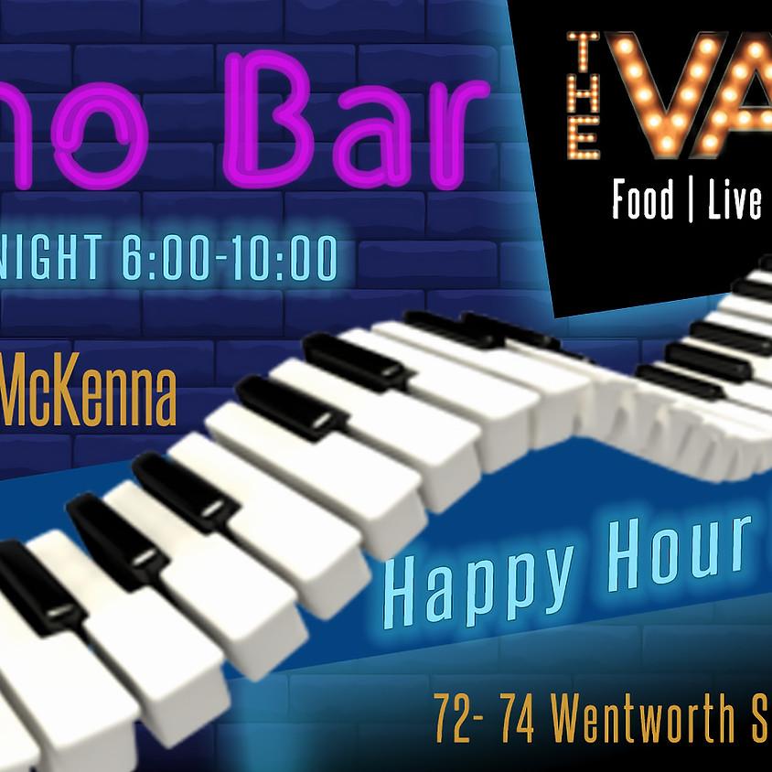 Friday Night Piano Bar and Happy Hour at The Vault