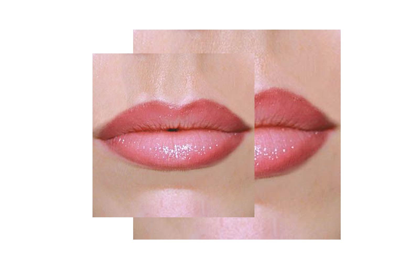 Lips blush (line+shading )