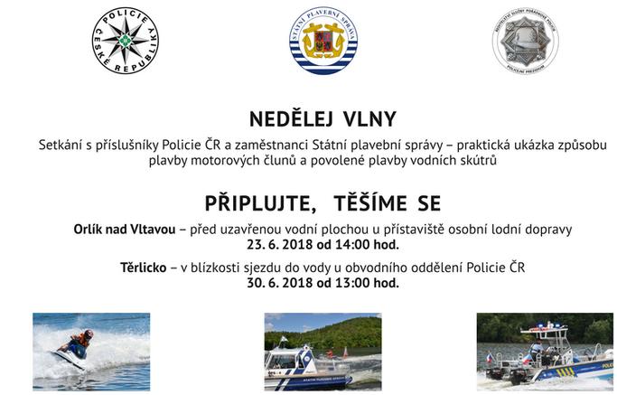 Setkání s příslušníky Policie ČR a Státní plavební správy