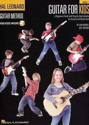 Guitar for Kids - Book 1 Hal Leonard
