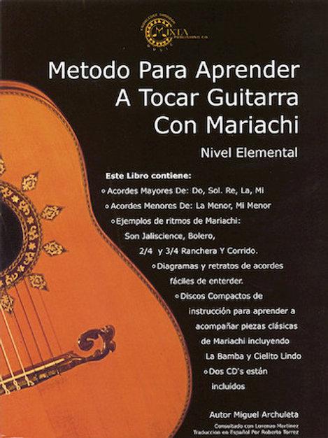 Mariachi Method for Guitar Hal Leonard