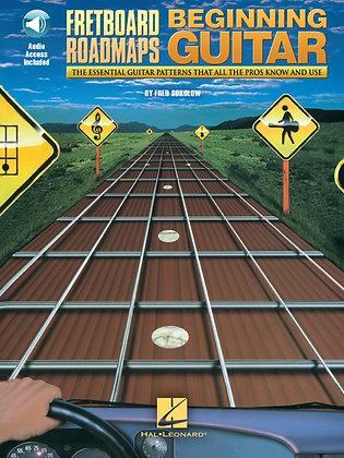 Fretboard Roadmaps Beginner Guitar Hal Leonard