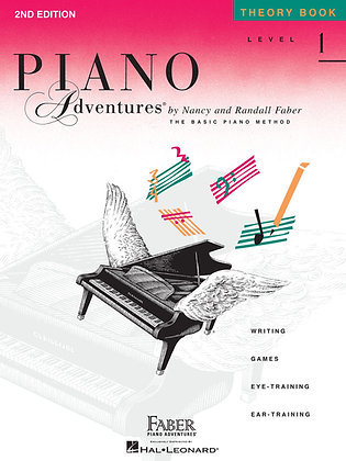 Level 1 – Theory Book, 2nd Edition Piano Adventures®