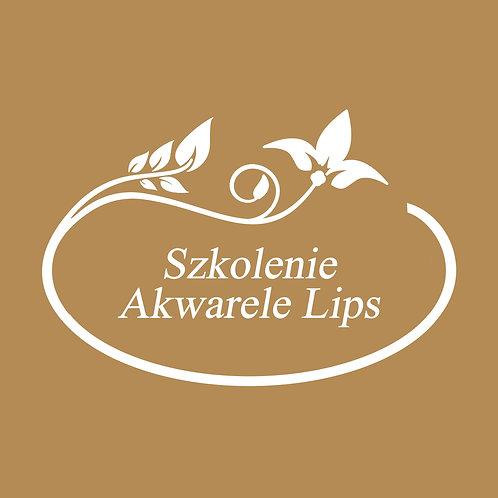 Szkolenie Akwarele Lips / 1 dzień /
