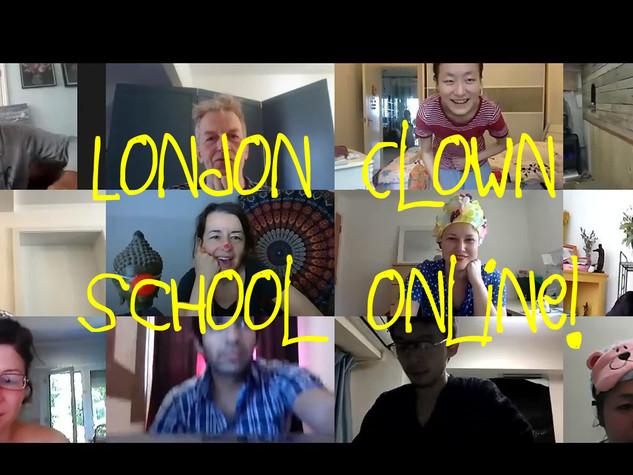 London Clown School Online