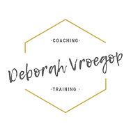logo Deborah Vroegop coaching en trainin