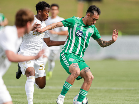 Frustrated by another draw, the OKC Energy feel they are close to breaking through