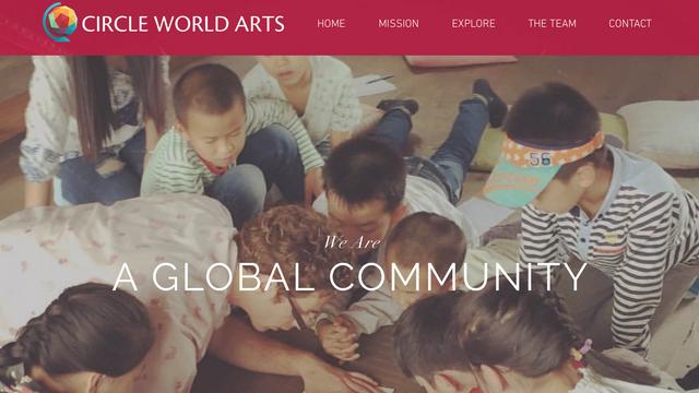Arts Nonprofit Website