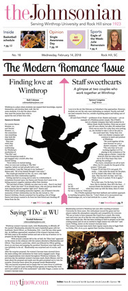 Front Page Design, The Johnsonian