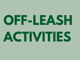 Off-Leash Activities