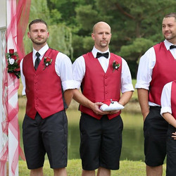 Nothing but #heartfelt emotion seen in this #groom 's face watching his #bride #walkingdowntheaisle