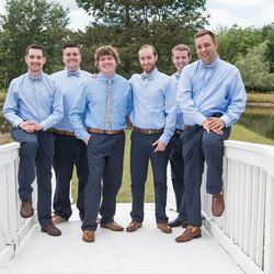 Joe the #groom is more than ready and so are his #groomsquad#groomsmen#weddinginspiration #destinati