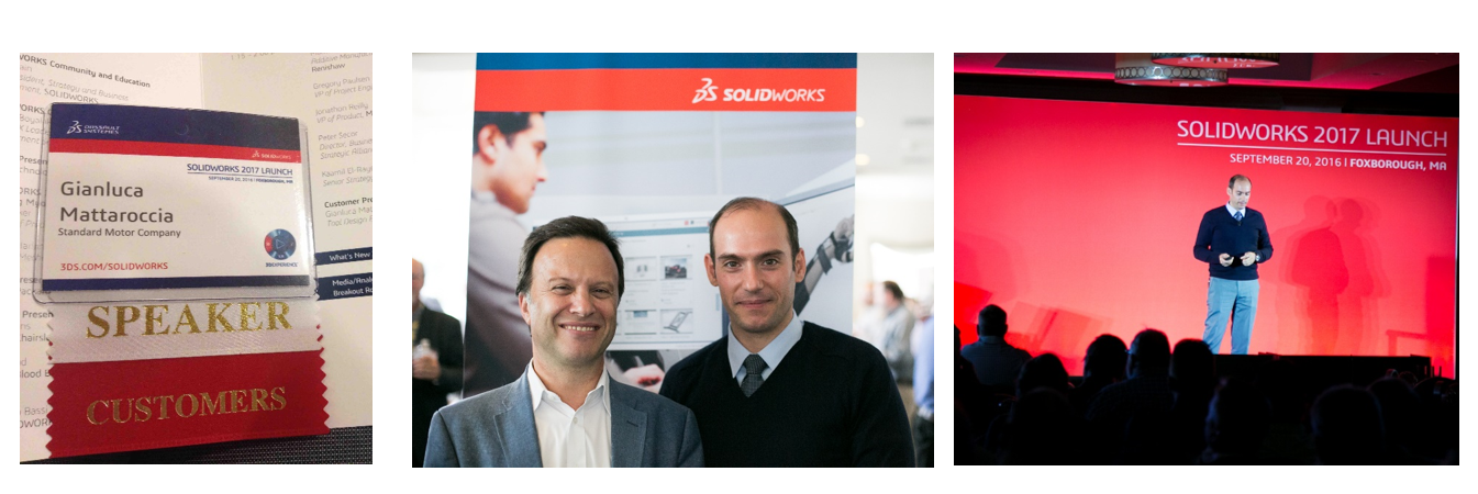 With Solidworks CEO, G.P. Bassi