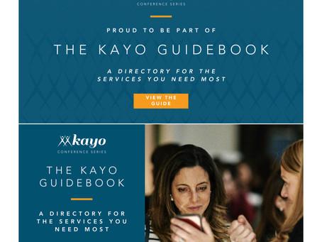 Tarplin Consulting featured in 2020 Kayo Guidebook