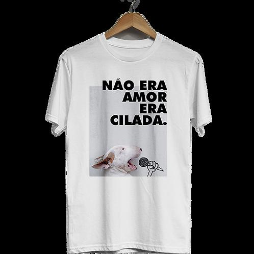 Camiseta Não era amor, era cilada