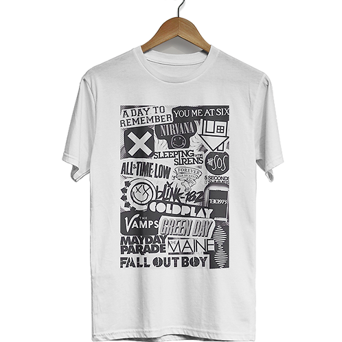 Camiseta Las Bandas
