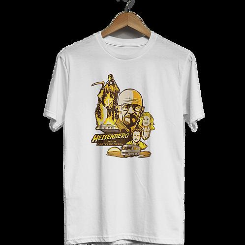 Camiseta Heisenberg e o cartel da morte