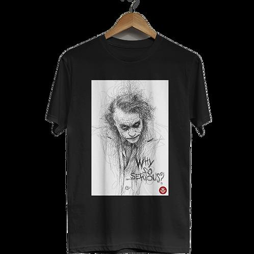 Camiseta Coringa - Why So Serious