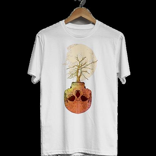 Camiseta Caveira Raiz