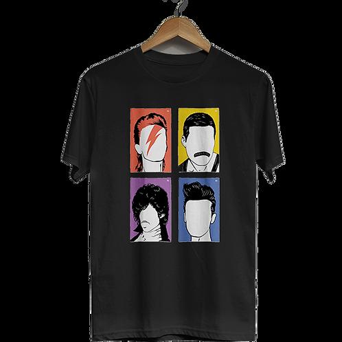 Camiseta Mitos da Música