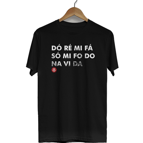 Camiseta Dó ré mi fá