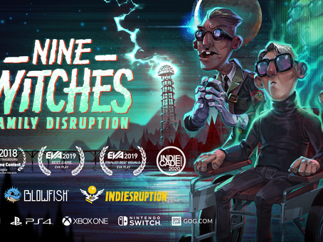 Nine Witches: Family Disruption Comically Conjures PC, Console Release Today