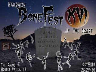 Halloween Festival Under the Desert Stars
