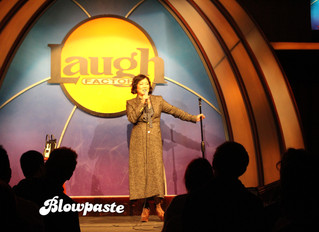 Celebrate Blowpaste at the Laugh Factory!