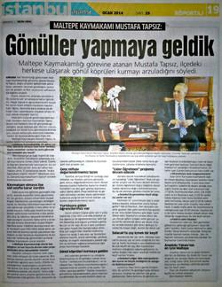 Maltepe Kaymakamı Mustafa Tapsız