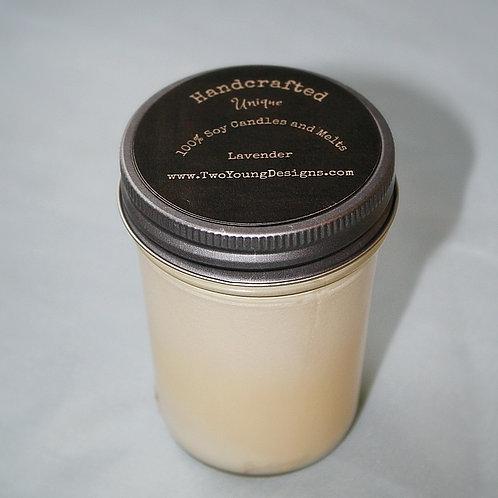 Lavender 8 oz Jar Candle