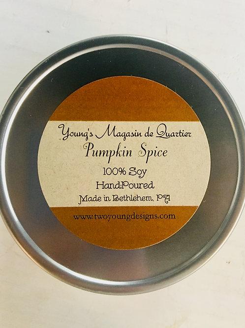 3-Wick Pumpkin Spice Candle 20 oz. Tin