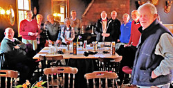 At the The Royal Oak Barcombe 21 Fe