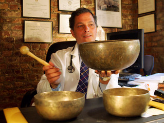 In Memoriam: Mitchell Gaynor, the Doctor with the Singing Bowls