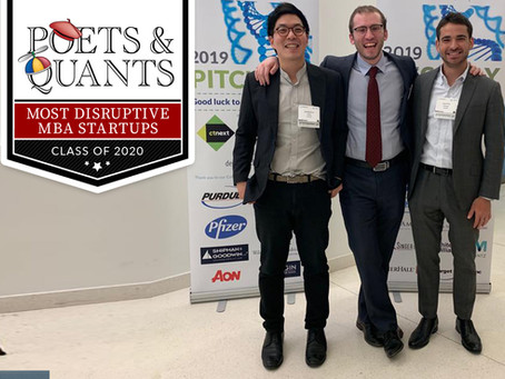 avoMD named a 2020 Most Disruptive MBA Startup by Poets&Quants