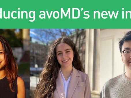 Introducing avoMD's newest interns!