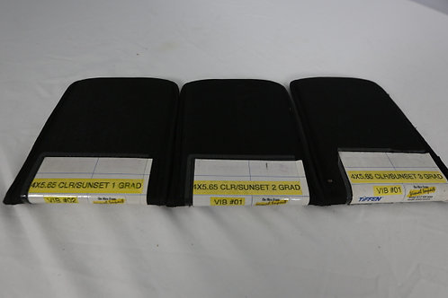 Tiffen 4x5.65 CLR/Sunset Filter, Set of 3 (1 to 3 GRAD SE)