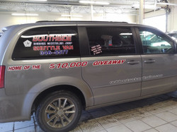 business vehicle decals and striping