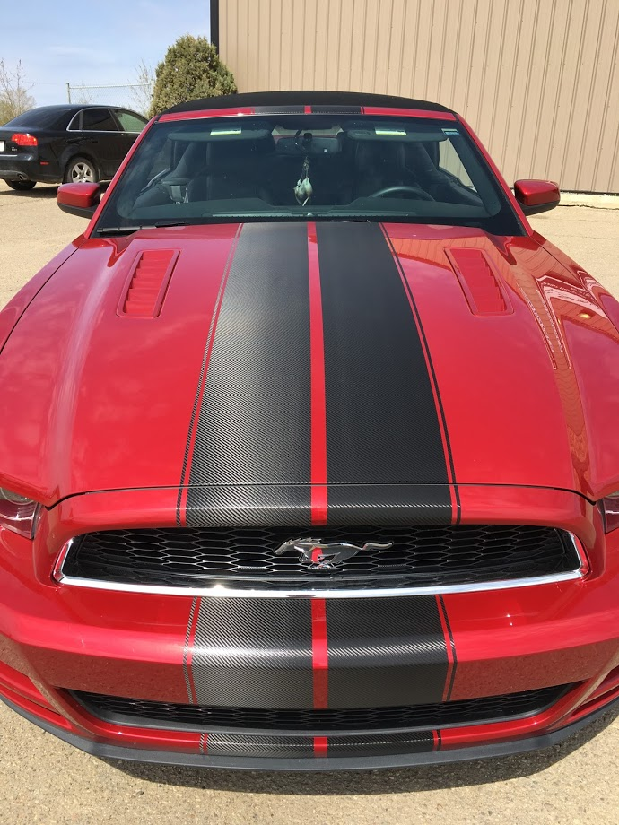 car striping and decals custom