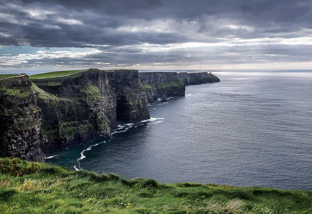 Cliffs at Dusk