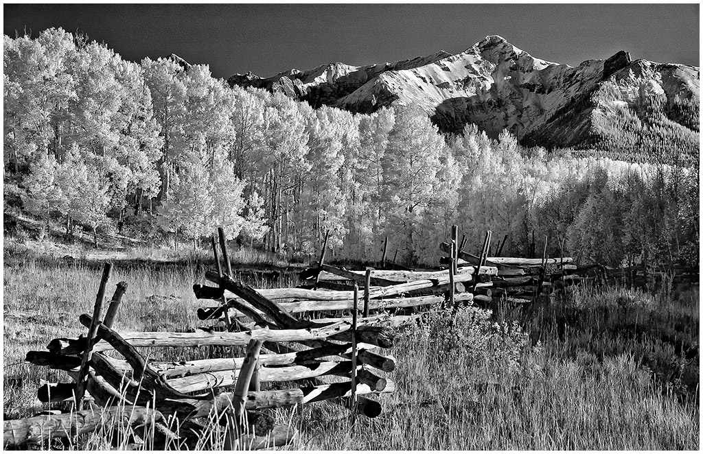 Mt. Sneffels in IR