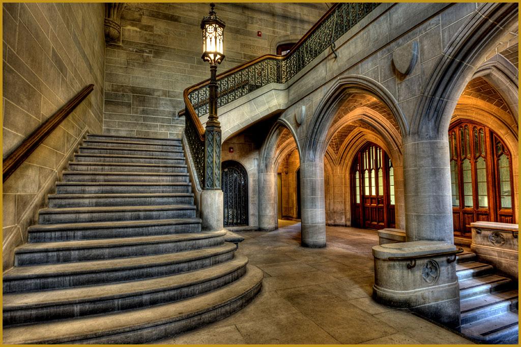 Old Seminary Lobby