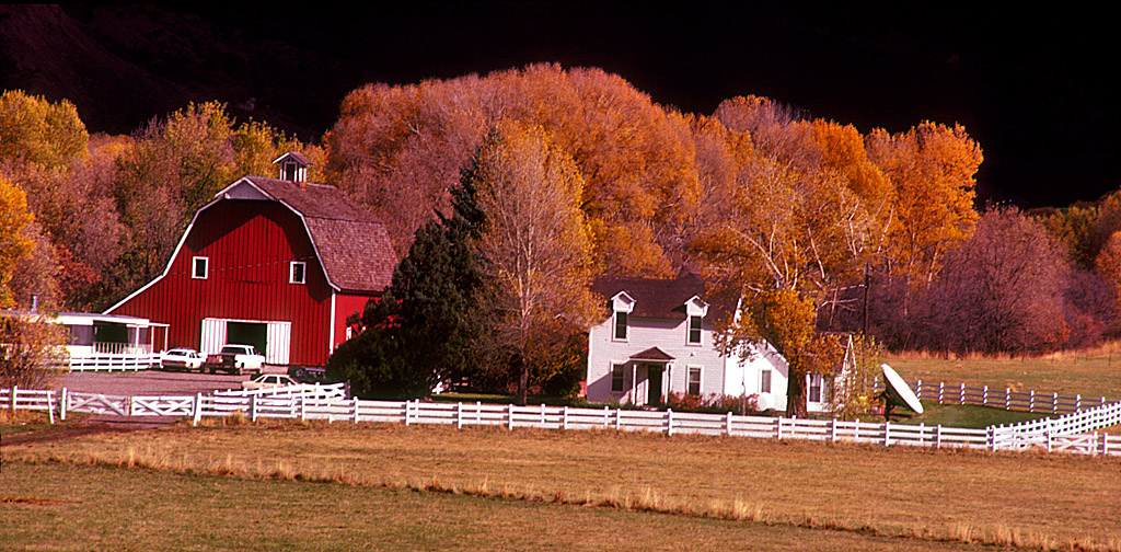 Fall at a Colorado Farm